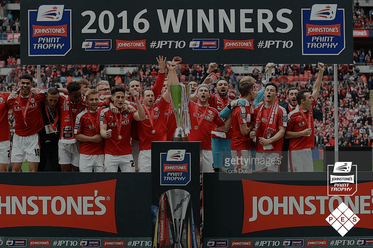 Johnstone's Paint Trophy Final 2016