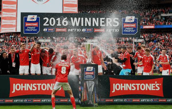 Johnstone's Paint Trophy Final 2016