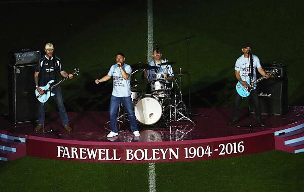 WHFC Farewell Boleyn Ceremony