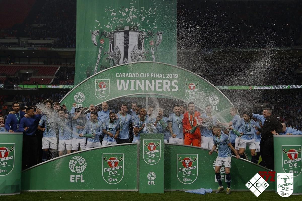 Carabao EFL Cup Final 2019 Winners Man City
