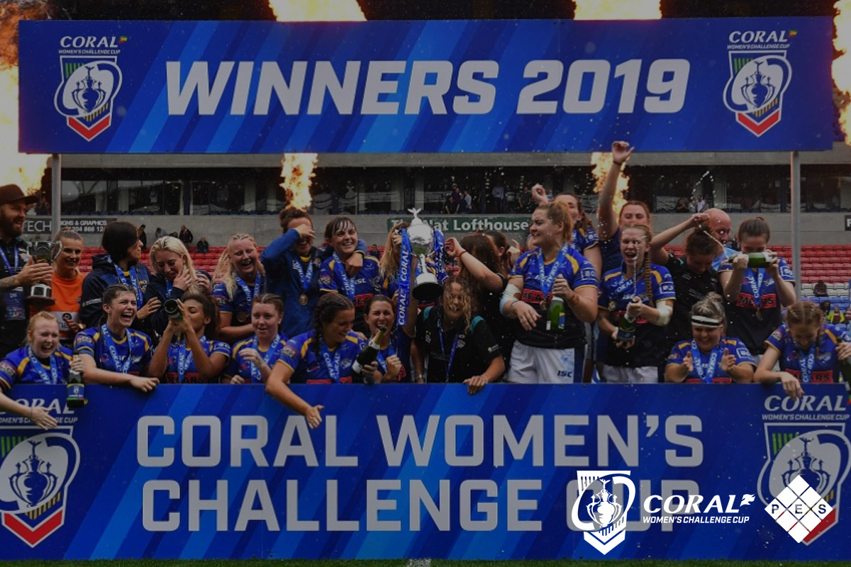Coral RFL Women's Challenge Cup Final 2019 Winners