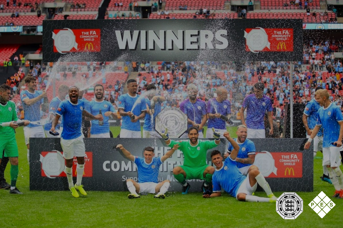 FA Community Shield 2019 Winners Board