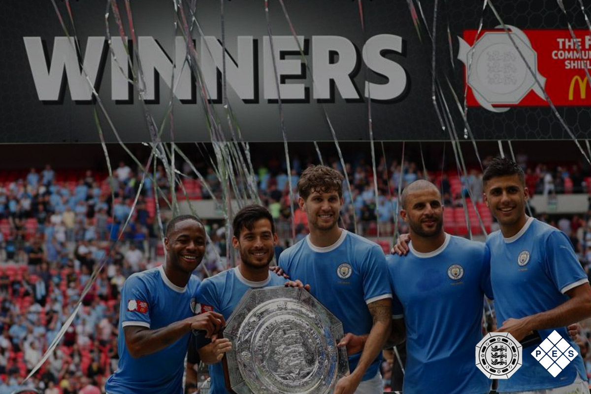 FA Community Shield Winners 2019 Man City
