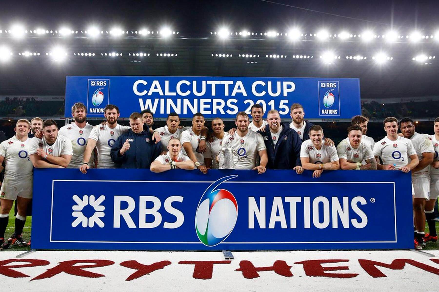 Freestanding Winners Board Hire for Calcutta Cup 2015