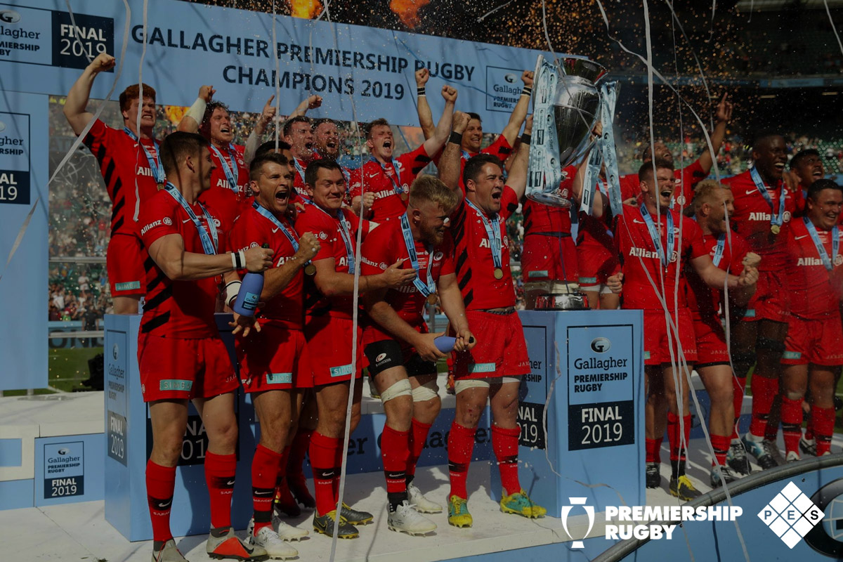 Gallagher Premiership Rugby Champions 2019 Winners