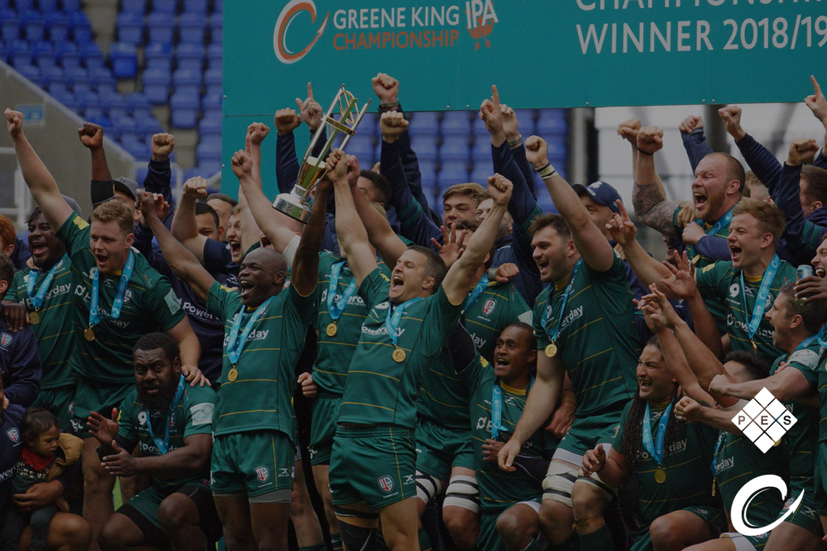 Greene King IPA Championship Winners London Irish 2018-19