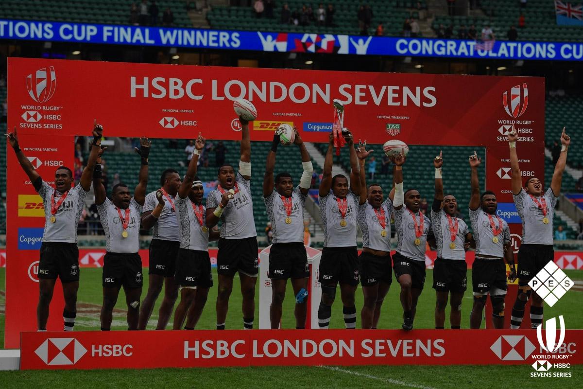 HSBC London Sevens 2019 Winners Presentation