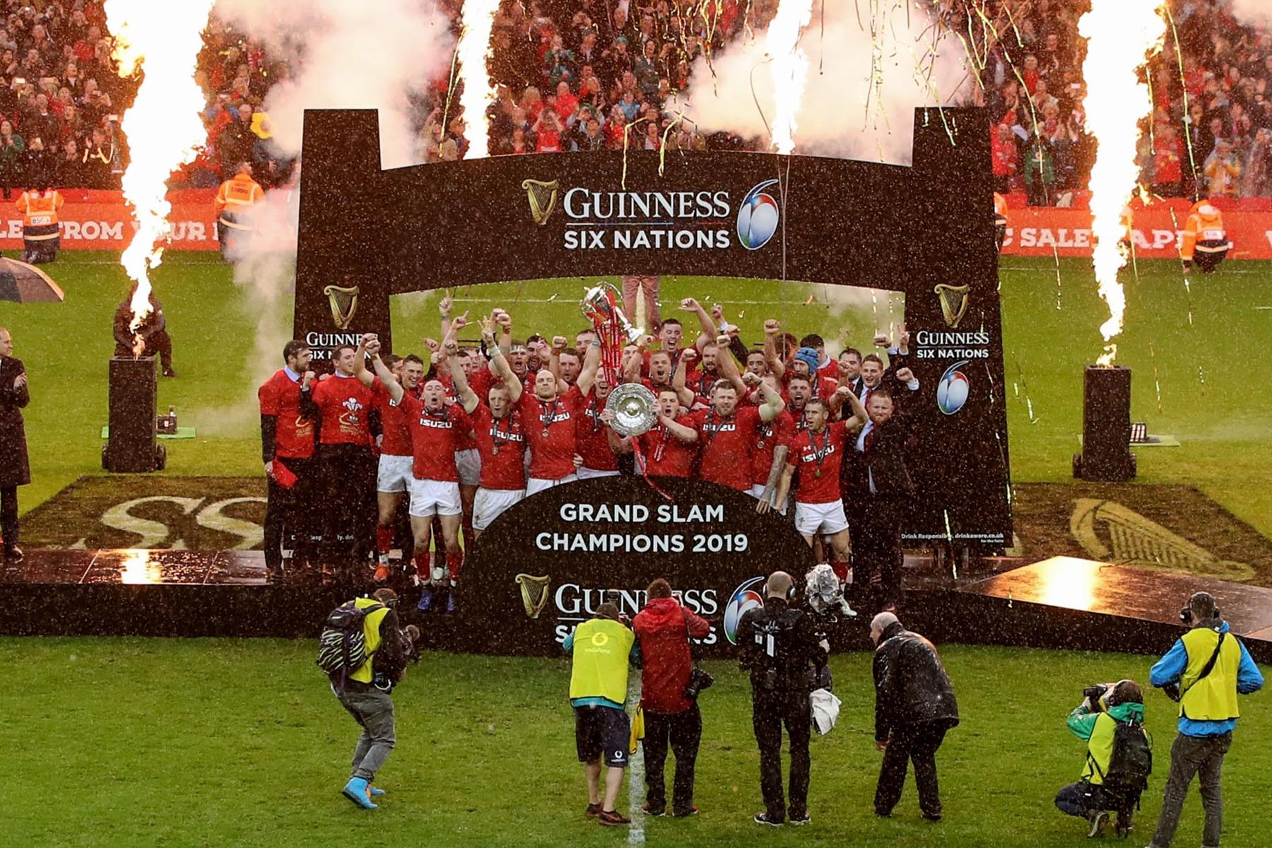 Grand Slam Champions Six Nations 2019