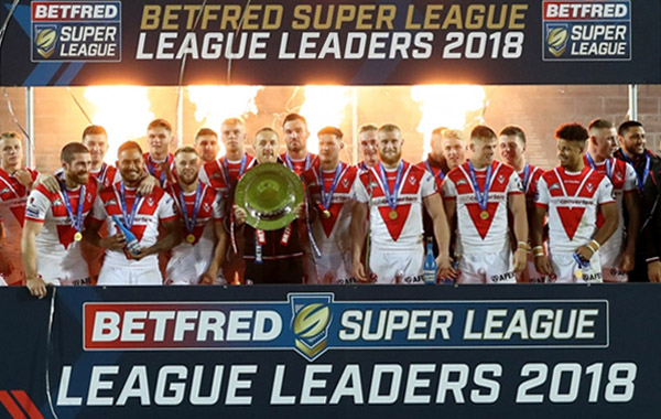 Betfred Super League Leaders 2018