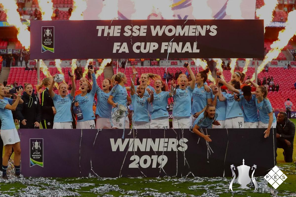 Women's FA Cup Final 2019 Winners