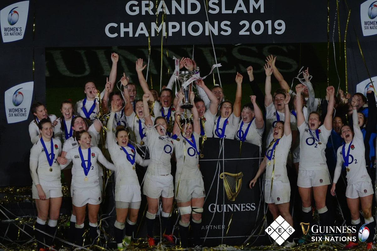 Women's Guinness Six Nations Grand Slam Winners 2019