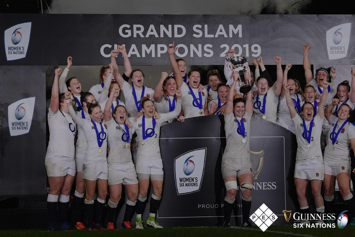 Women's Guinness Six Nations Grand Slam Winners